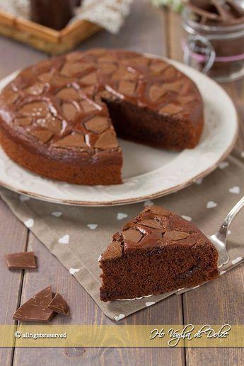 Torta Senza Uova Al Cioccolato.Torta Al Cioccolato Senza Uova Ricette Dolci Torte E