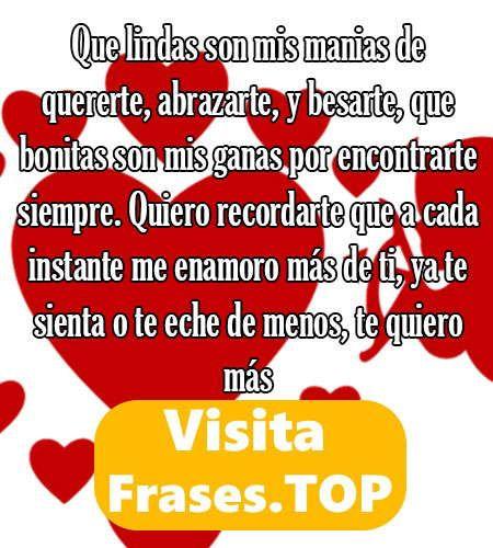 Mensajes Y Frases Bonitas De Amor Lindas Para Mi Novia O Novio