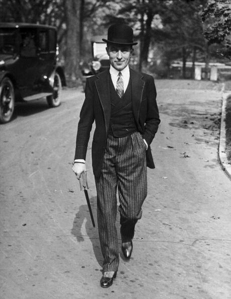 Jean Patou Usa 1924 1920er Stil Vintage Herrenmode 1920er