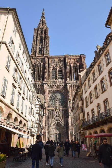 Catedral De Estrasburgo Francia Estrasburgo Lugares Para Visitar Catedral