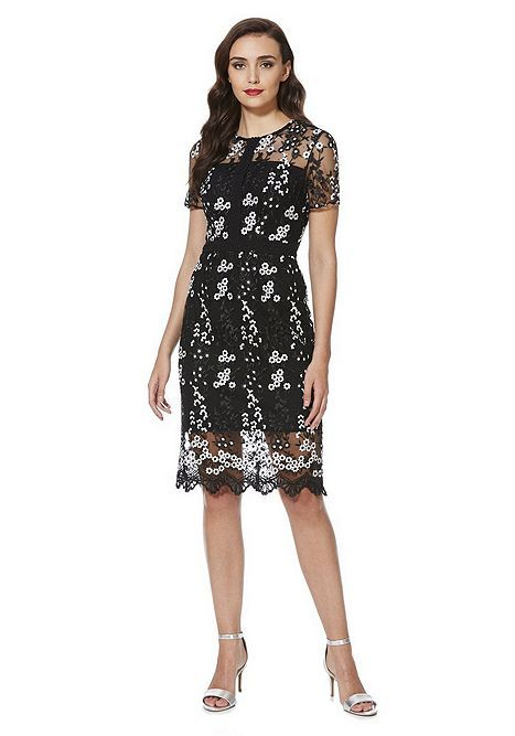 88a1fc993 Tesco direct: F&F Cherry Blossom Embroidered Lace Dress | Tesco In ...