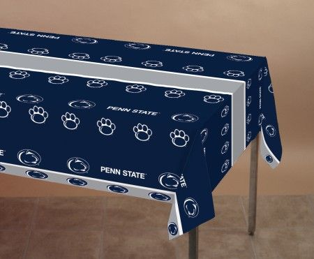 "12 NCAA Penn State Nittany Lions Tailgating Banquet Table Covers - 54"" x 108"" - 31008466"