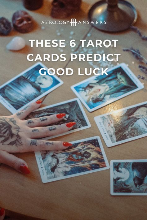 Which Tarot cards really represent good luck? Is your Tarot deck offering you messages of unexpected fortune? Let's find out, and talk about some of the cards that can best indicate good luck on the way.