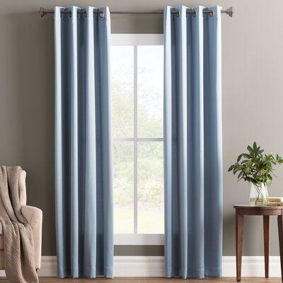 Allmodern Essentials Wayfair Basics Solid Room Darkening Grommet Curtain Panel Panel Curtains Grommet Curtains Curtains
