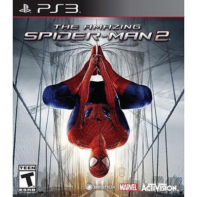 The Amazing Spider Man 2 Sony Playstation 3 Ps3 Game Disc Case Spiderman Marvel Movies Avengers Spider Man 2 Amazing Spider Spiderman