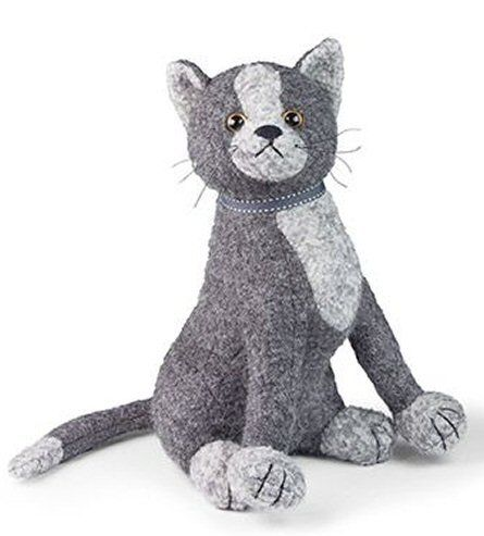 Doorstop Gray Cat