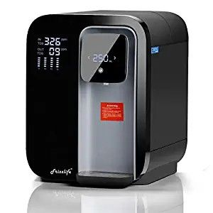 Frizzlife Reverse Osmosis Water Filtration System Countertop Ro