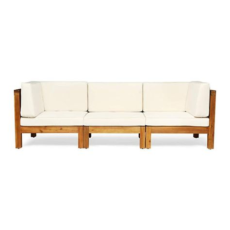 Amazon Com Great Deal Furniture Keith Outdoor Sectional Sofa Set