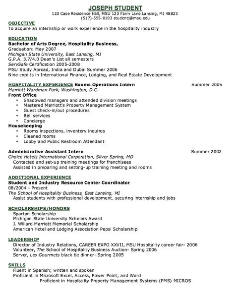 Hotel Concierge Resume Example -    resumesdesign hotel - housekeeping resumes