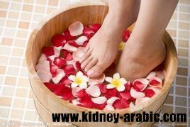 فائدة علاج استحمام القدمين بالاعشاب علم الطبيب الصيني ان الاجهزة الداخلية الجسمية يوجد اسقاط المقابلة علي الاقدام القدم Foot Odor Natural Crystals Antiseptic
