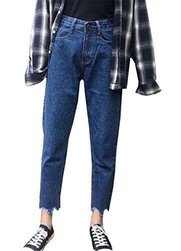 Preis bleibt stabil Top Qualität Neuestes Design COCO clothing Frühjahr Herbst Mom Jeans Damen Hose 7/8 ...