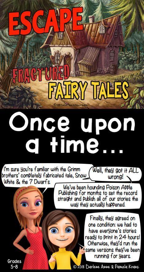 Escape Room Plot Elements Fractured Fairy Tales Creative Writing Fractured Fairy Tales Creative Writing Fairy Tales