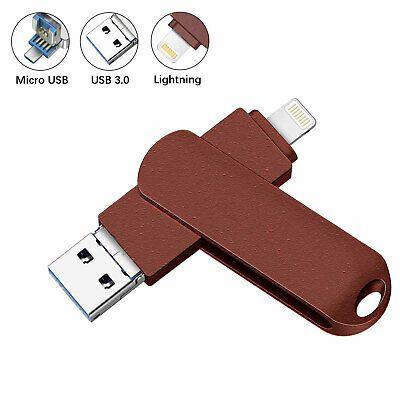 Sponsored 512gb Ios Usb 3 0 Flash Drive External Storage Memory Stick For Iphone Ipad Pc External Storage Memory Stick