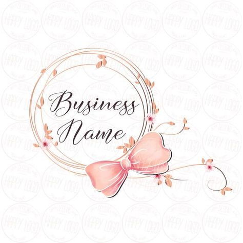 PLEASE READ before purchasing a logo from my shop:  ...............................................................................................  This is a premade logo, designed by me. The design will be resold, it is not an ooak logo.  This is an original design, designed by me, it is not used