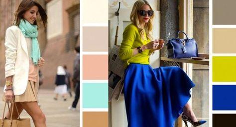 Cómo combinar colores para vestir siempre bien y con mucho