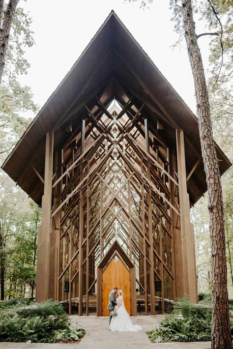 Arkansas elopement at the beautiful Anthony's Chapel in Hot Springs, Arkansas