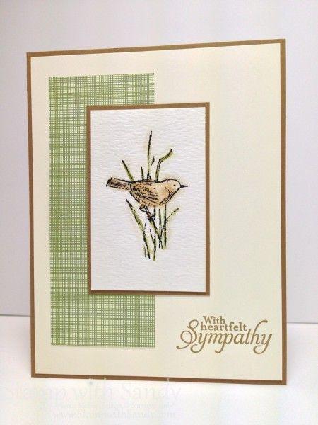 A little bit more manly Sympathy Card