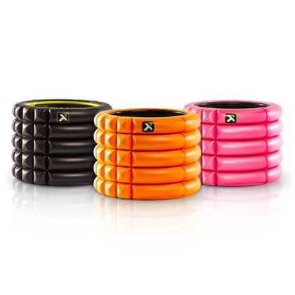 Smaller than a traditional foam roller, Trigger Point's Grid Mini ($25) takes up virtually no space, making it ideal for traveling (destination race, anyone?). | #fitness #holiday #gift #run