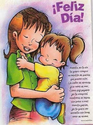 Hermosos Poemas Para Dedicar A Mama En Su Dia Poema Para La Madre Dibujos Del Día De Las Madres Feliz Día De La Madre