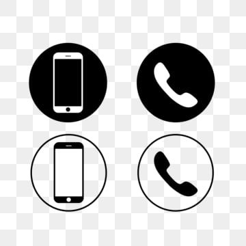 Black Mobile Phone And Phone Icons On A White Background Vector Phone Icons Mobile Icons Black Icons Png And Vector With Transparent Background For Free Down Mobile Icon Phone Icon Support