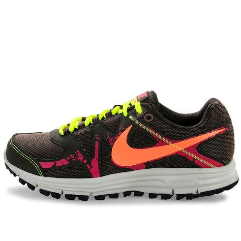 sports shoes bab2a 65bec NIKE LUNARFLY+ 3 TRAIL 525035-286 Womens Running Shoes Athletic Black Size  5.5