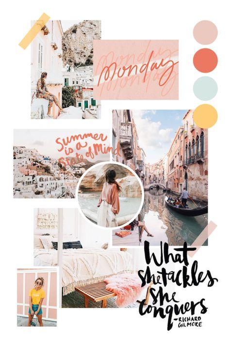 Monday Moodboard Inspo | chellyreck.com #moodboard #design #inspiration #branding #colorpalette