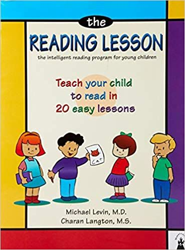 The Reading Lesson Teach Your Child To Read In 20 Easy Lessons