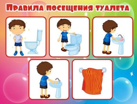 Последовательность мытье рук в картинках