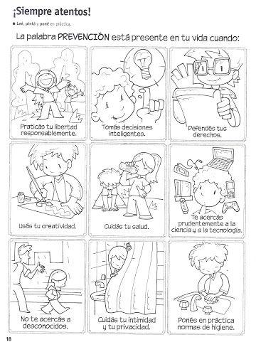 31 Ideas De Seguridad Para Niños Seguridad Para Niños Autocuidado Niños Reglas De Seguridad