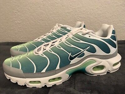 New Nike Air Max Plus Og Tuned Tn Mint Ghost Green White Teal Sz