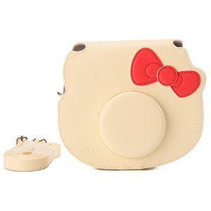 25fce525cc4e CAIUL Fujifilm Instax Hello Kitty Instant Camera Case (Yellow ...