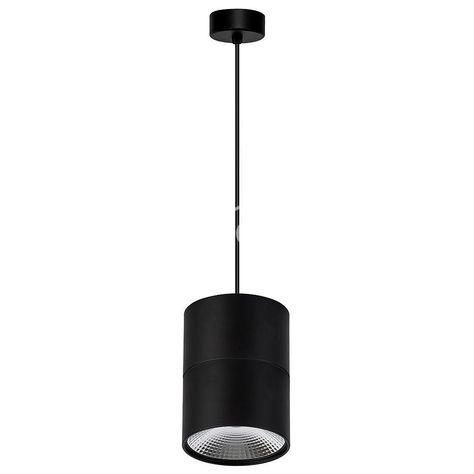 Round Pendant Matt Black Led Havit Lighting Hv5803c Blk P