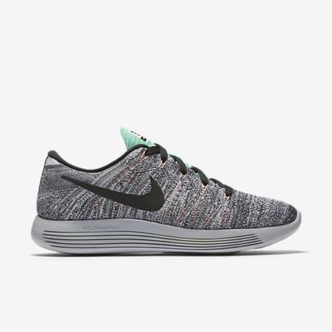 466903f6df4 Nike Lunarepic Low Flyknit Womens Running Shoes White Black Mango 843765 100   Nike  RunningCrossTraining