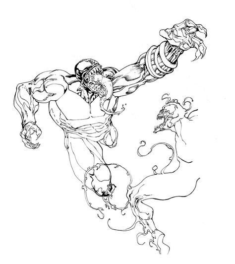Venom Coloring Pages Coloring Pages For Kids Coloring Pages