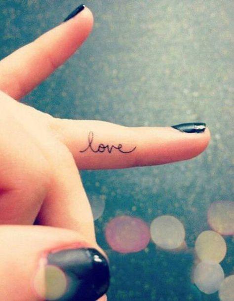 List Of Pinterest Vinger Tattoo Inner Simple Pictures