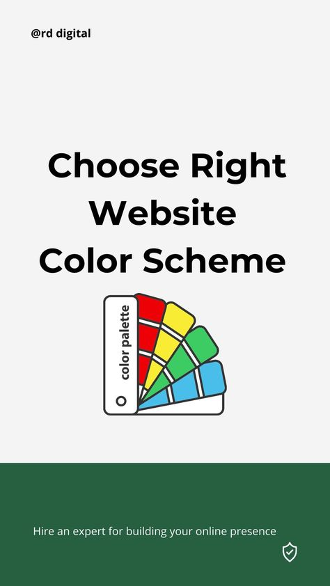 Website Color Scheme Choosing for Your Business Website
