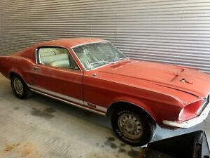 Rare 1968 Ford Mustang Shelby Gt500s That Spent The Last 15 Years