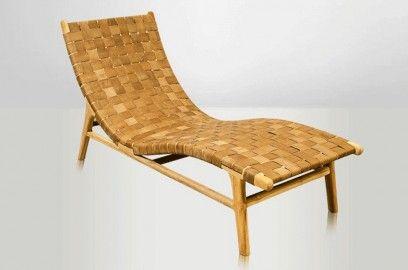 Chaise Longue Fjord Cuir Chaise Longue Design Chaise Longue Chaise