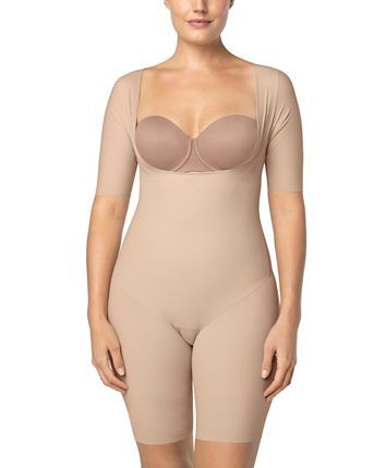Leonisa Undetectable Open Bust Shorty Body Shaper Jumpsuit Reviews Shapewear Women Macy S Women S Shapewear Body Shapers Body Shapewear