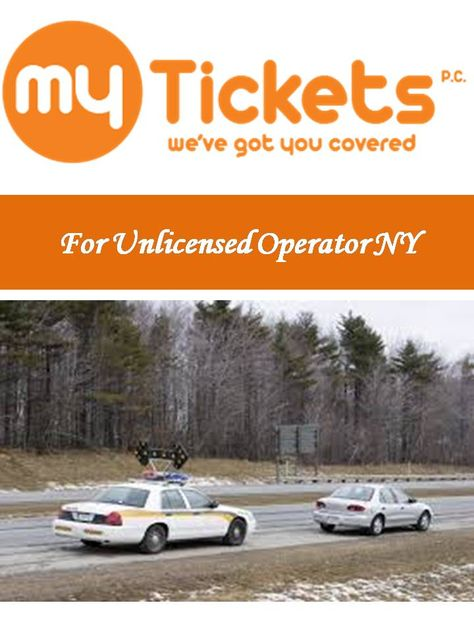 Nyc Traffic Ticket >> Pin By Myticketsnyc On For Unlicensed Operator Ny