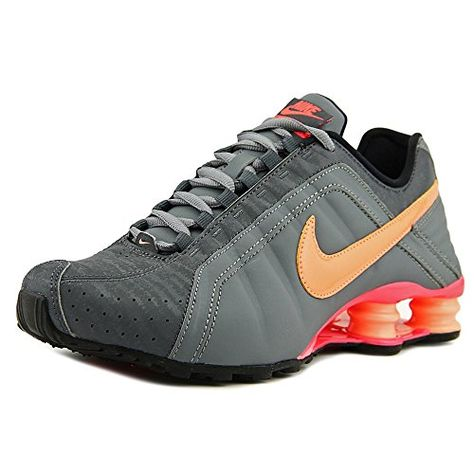 5e78cbe9d7f00 Nike Women s Shox Junior Athletic Sneaker Shoes-Cool Grey Sunset Glow-7      Visit the image link more details.