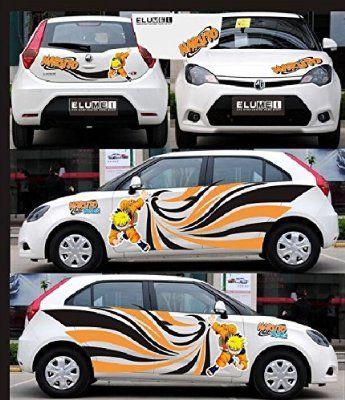 Itasha Pcs Hot Anime Naruto Car Stickers Manga Naruto Car Vinyl - Car anime stickers