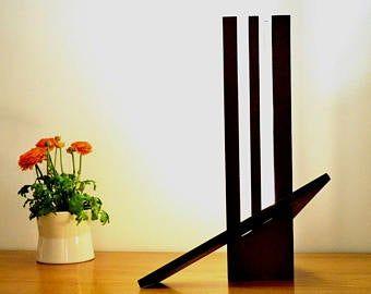 Lampe Bois D Exception En Sipo Et Frake Un Design Peu Commun