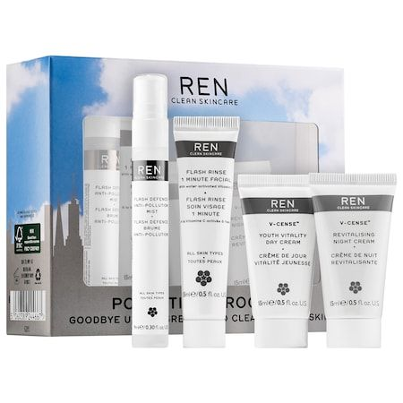 Ren Pollution Proof Kit Products Ren Clean Skincare