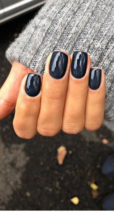 Popular Fall Nail Colors for 2020 - Beauty Nails #nails #fallnail #beauty #nailcolors #nailideas #nailart #gelnail #acrylicnail