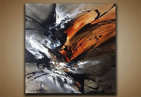 Abstract Painting Wall Art Contemporary Abstract Modern