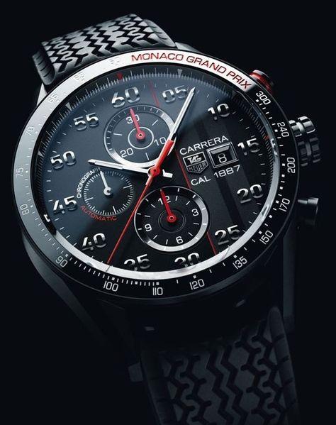 Tag Heuer CARRERA MONACO GRAND PRIX Limited Edition Watch | www.majordor.com