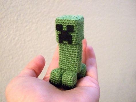 Ultimate Gamer Crochet Pattern Round Up Minecraft Creeper