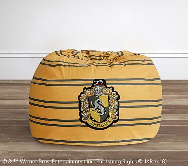 Excellent Harry Potter Hufflepuff House Crest Beanbag In 2019 Bean Andrewgaddart Wooden Chair Designs For Living Room Andrewgaddartcom