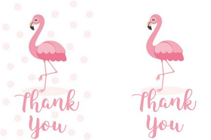 Free Printable Flamingo Thank You Gift Tags Gift Tag Cards Thank You Gifts Teacher Appreciation Gifts